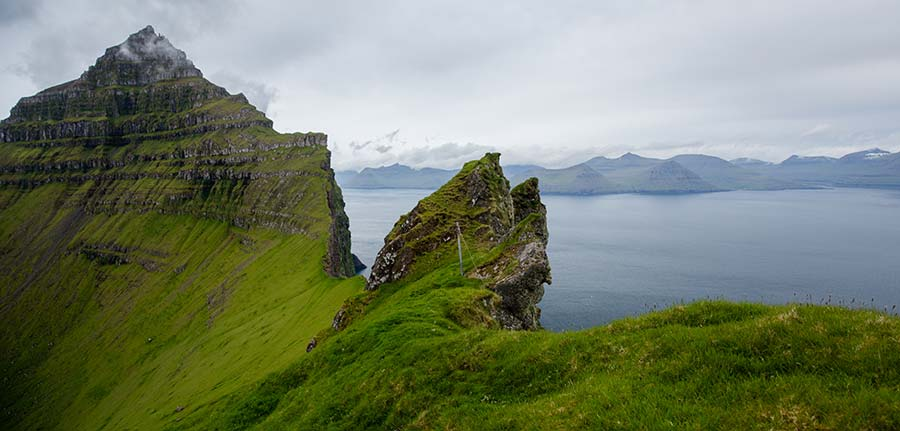 The day I almost fell off a cliff in the Faroe Islands ...